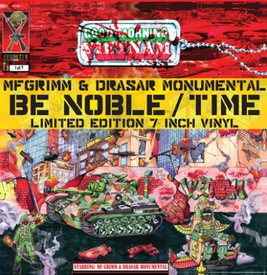MF Grimm - Be Noble / Time