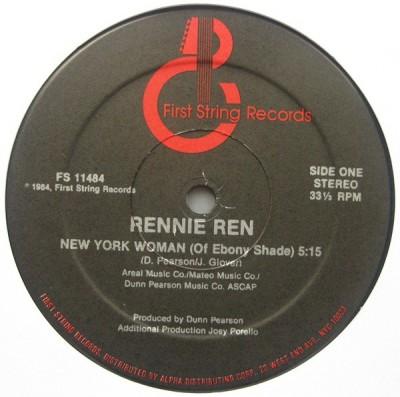 Rennie Ren - New York Woman (Of Ebony Shade)