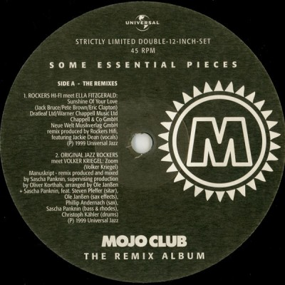 Various - Mojo Club - The Remix Album (Some Essential Pieces)