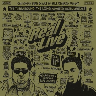 Real Live - The Turnaround: The Long Awaited Instrumentals