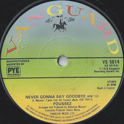 Poussez! - Never Gonna Say Goodbye