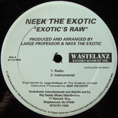 Neek The Exotic - Exotic's Raw