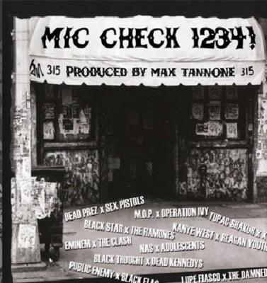 Max Tannone - Mic Check 1234!