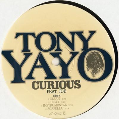 Tony Yayo - Curious / Pimpin