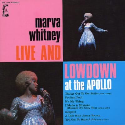 Marva Whitney - Live & Lowdown At The Apollo