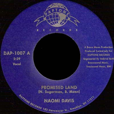 Naomi Davis - Promised Land