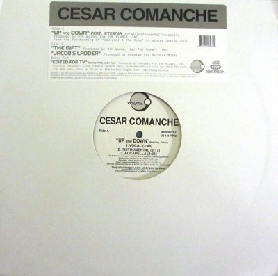 Cesar Comanche - Up And Down