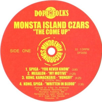Monsta Island Czars - The Come Up