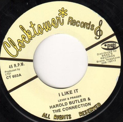 Harold Butler - I Like It