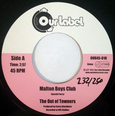 The Out Of Towners - Malton Boys Club