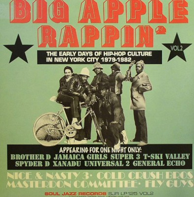 Various - Big Apple Rappin' Vol. 2