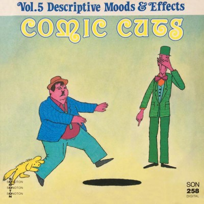 Hans Ehrlinger, Roy Etzel, Walt Rockman - Comic Cuts, Vol. 5: Descriptive Moods & Effects