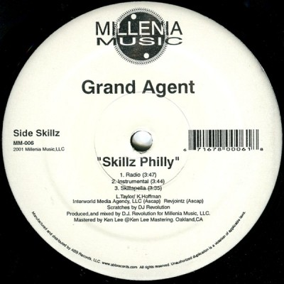 Grand Agent - Skillz Philly / Soldierz