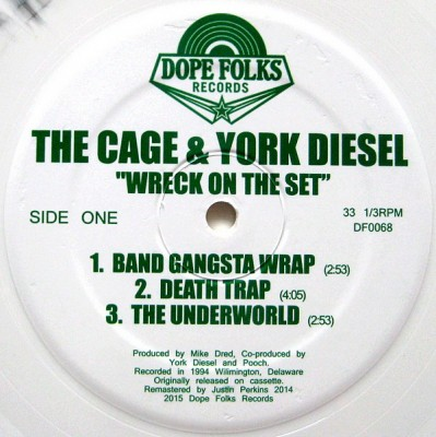 The Cage & York Diesel - Wreck On The Set