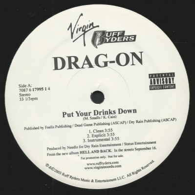Drag-On - Put Your Drinks Down