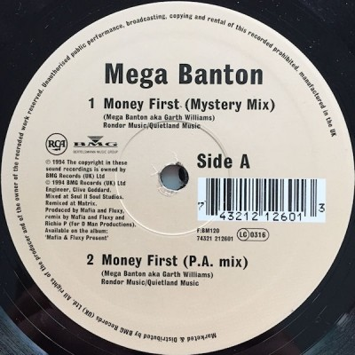 Mega Banton - Money First (Remixes)