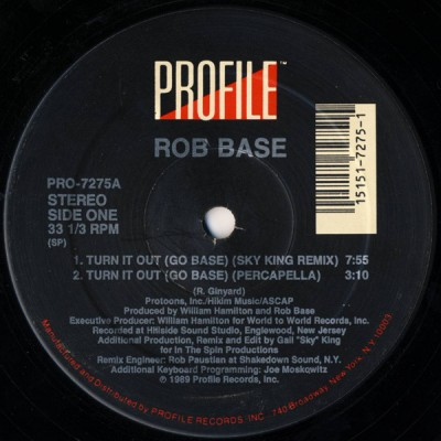 Rob Base - Turn It Out (Go Base)