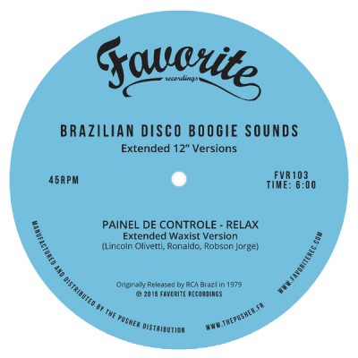 "Various - Brazilian Disco Boogie Sounds (Extended 12"" Versions)"
