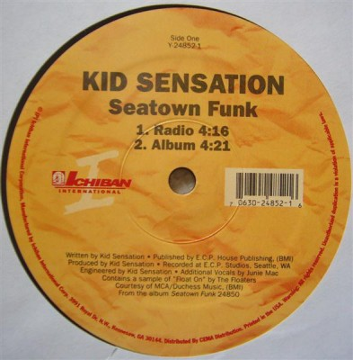 Kid Sensation - Seatown Funk