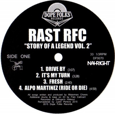 Rast RFC - Story Of A Legend Vol. 2