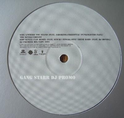 Gang Starr - DJ Promo