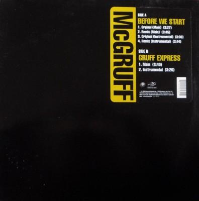 Herb McGruff - Before We Start / Gruff Express