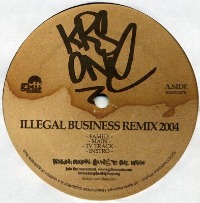 KRS-One - Illegal Business (Remix 2004)