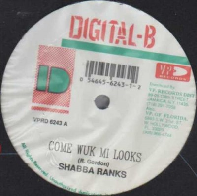 Shabba Ranks - Come Wuk Mi Looks