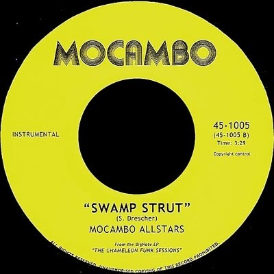 Jim Watson / Mocambo Allstars ‎– The Prophet / Swamp Strut