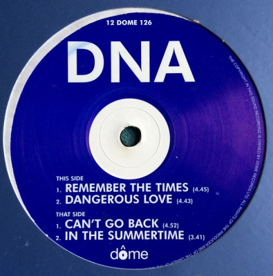 DNA - Remember The Times