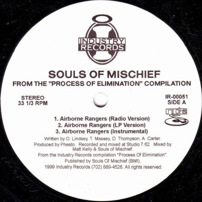 Souls Of Mischief / Swollen Members - Airborne Rangers / Groundbreaking