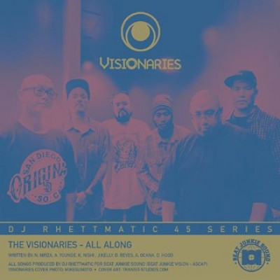 Visionaries / Crown Royale ‎– All Along / Stratasphere  - All Along / Stratasphere