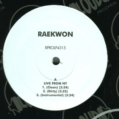Raekwon - Live From New York / Power