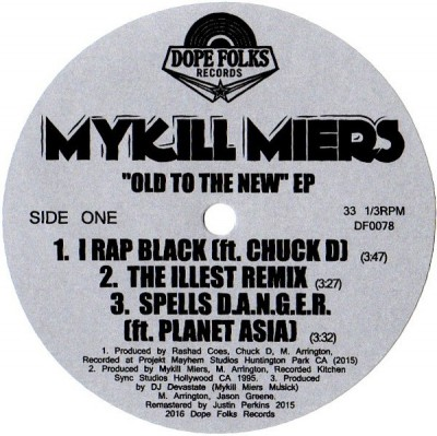 Mykill Miers - Old To The New EP