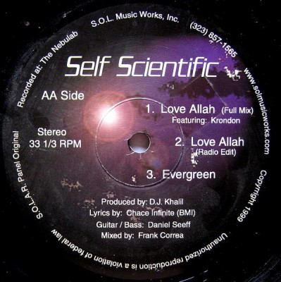 Self Scientific - Love Allah / Evergreen