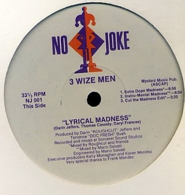 3 Wize Men - Explicit Lyrics / Lyrical Madness