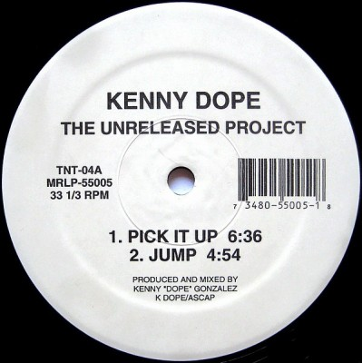 Kenny Dope - The Unreleased Project