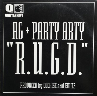 AG & Party Arty - R.U.G.D. / The Feature
