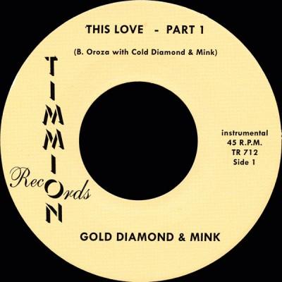 Cold Diamond & Mink - This Love