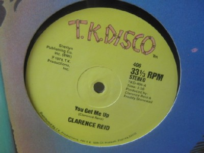 Clarence Reid - You Get Me Up