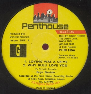 Buju Banton - Loving Was A Crime