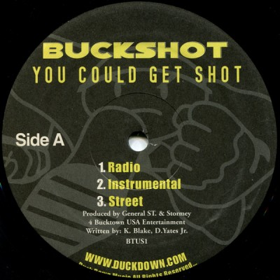 Buckshot - You Could Get Shot