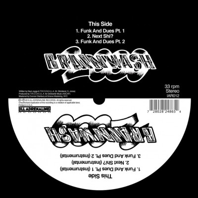Brainwash 2000 - Funk And Dues / Next Shit (Black & White Splatter Vinyl)