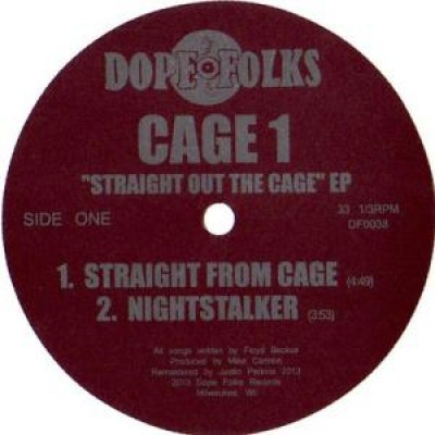 Cage 1 - Straight Out The Cage EP