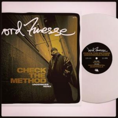 Lord Finesse - Check The Method Underboss Remix White Vinyl Edit