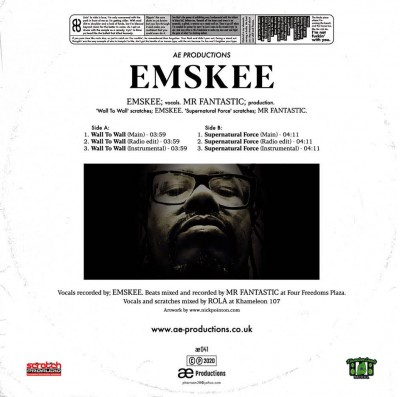 Emskee - Wall To Wall / Supernatural Force