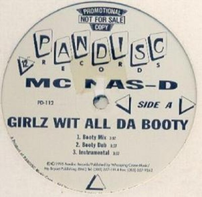 MC Nas-D - Girlz Wit All Da Booty