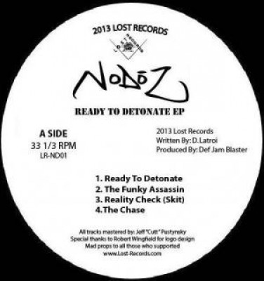 NoDōz - Ready To Detonate EP